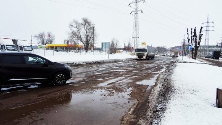 Заводское шоссе от Авроры до XXII Партсъезда перекроют на 9 месяцев