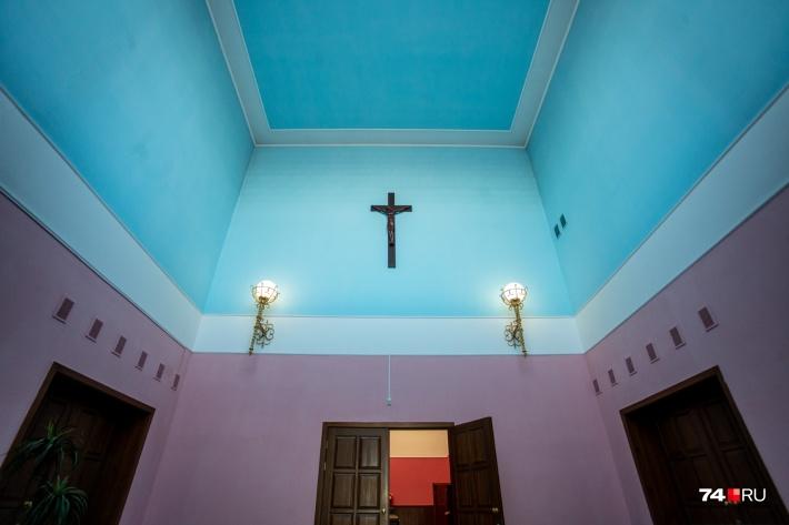 Голубой — символ небес