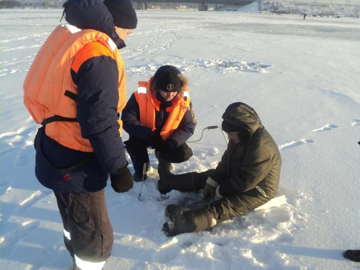 Административные протоколы составили на трёх рыбаков