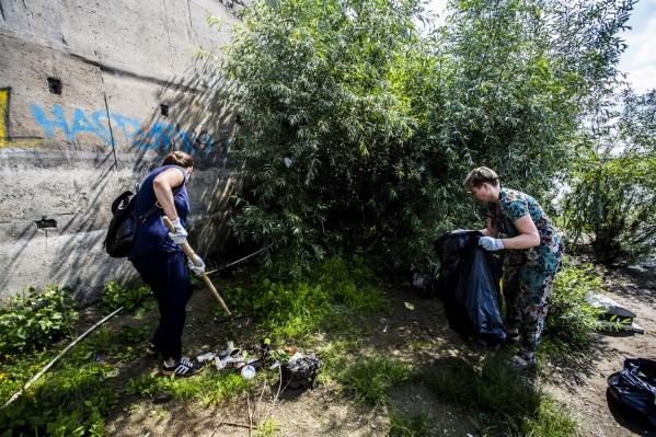 Акция «Блогер против мусора» проходит в Новосибирске уже в пятый раз