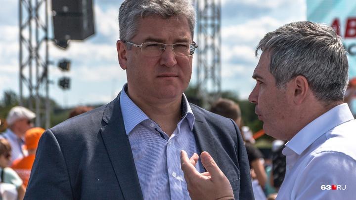 Председателем правительства Самарской области стал Виктор Кудряшов