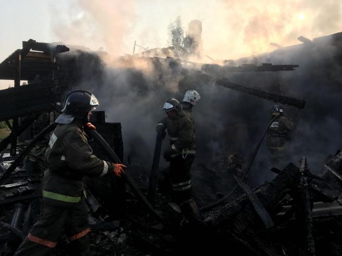 Трагедия произошла минувшей ночью в посёлке Октябрьском под Новосибирском