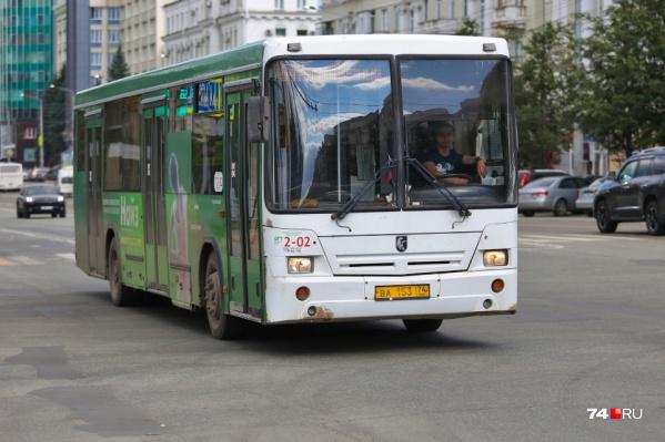 В ближайшее время Челябинск получит 10–15 новых автобусов