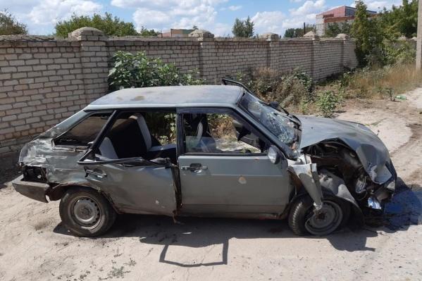 В больнице оказались все пассажиры ВАЗ-21093