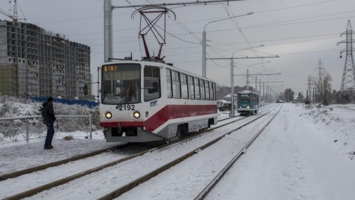 Очереди длиннее, а с сумками неудобно: мэрия отчиталась о работе трамвая без кондукторов