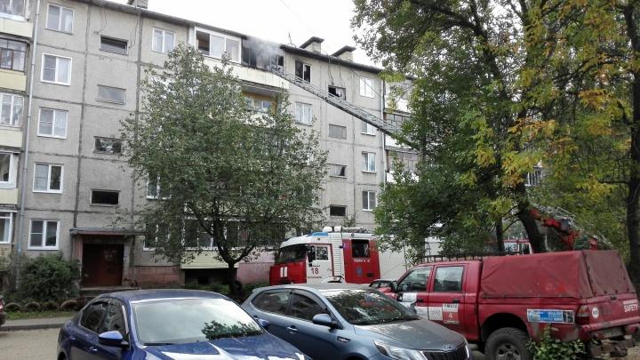 У семьи ничего не осталось: в Брагино полыхала квартира