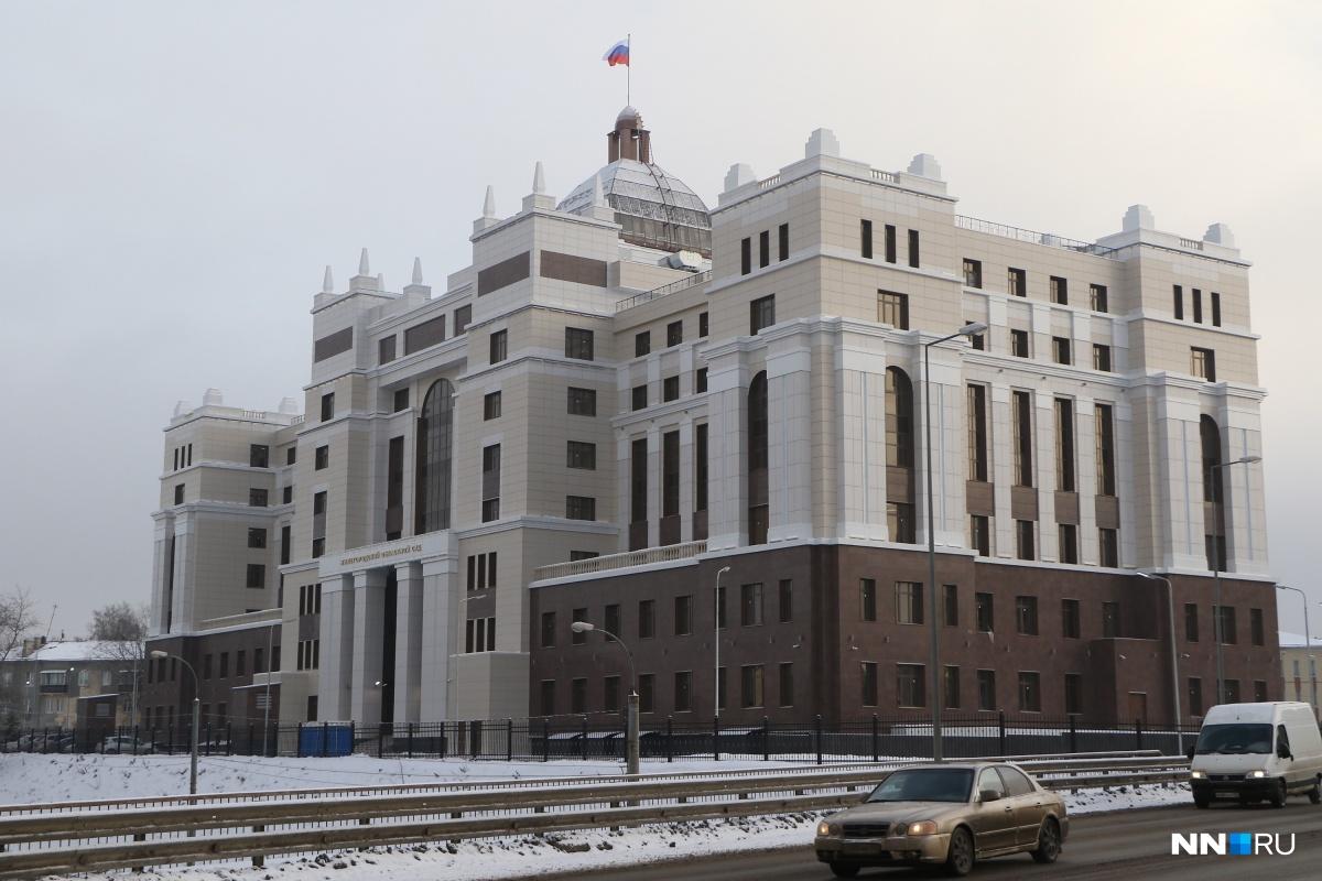 Нижегородский областной суд будет проводить совещания вновом помещении наулице Студенческой