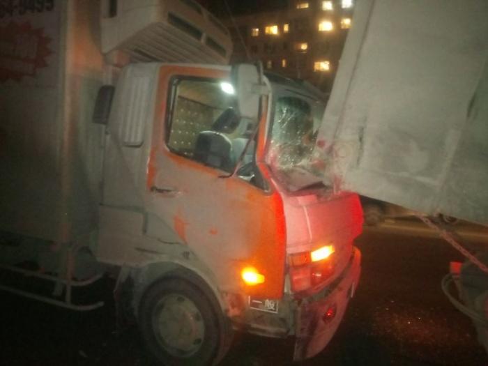 Водитель самосвала повреждений на машине не обнаружил