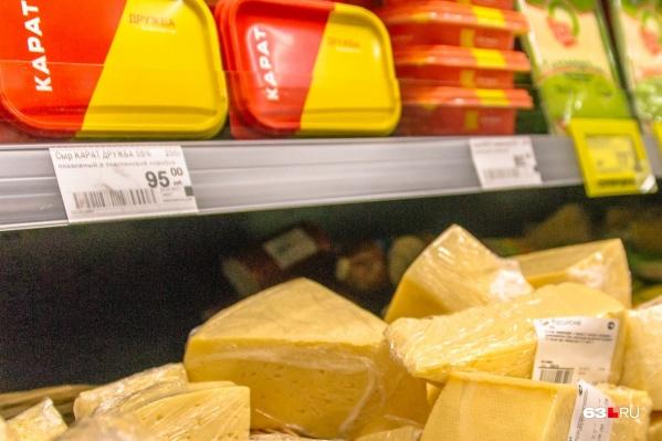 Молочную продукцию будут делать в Тольятти