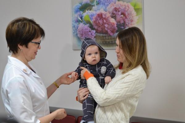 8-месячный Мирон— один из малышей, появившихся на свет в репродуктивном центре Самарской области