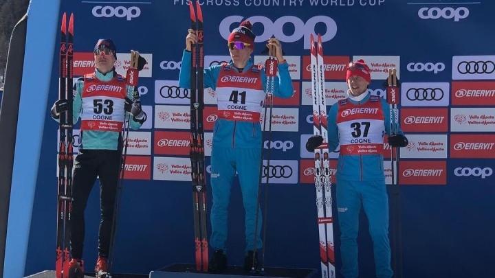 Тюменский лыжник выиграл гонку на 15 км на этапе Кубка мира