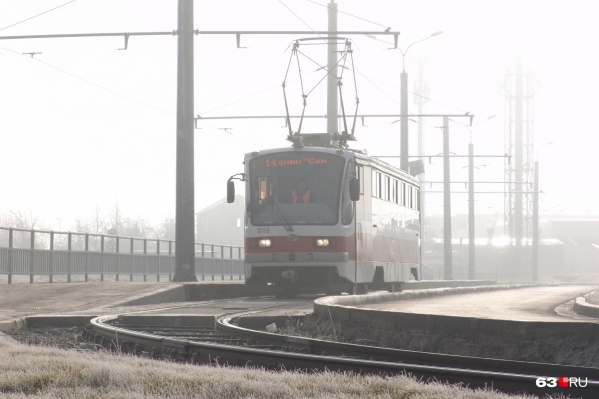 Новый трамвай запустили с 1 ноября