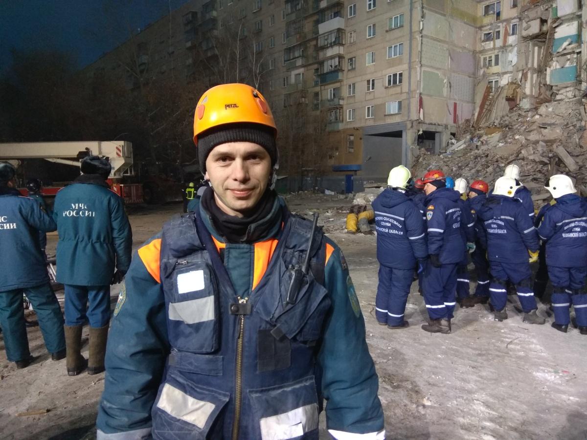 Петр Гриценко руководит управлением аварийно-спасательных работ в зонах ЧС центра «Лидер» МЧС России
