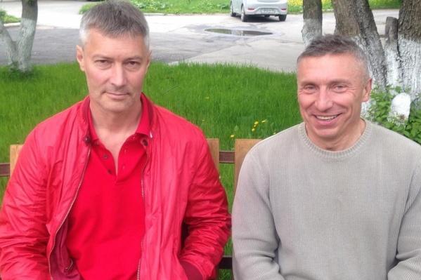 Дмитрий Головин и Евгений Ройзман встретились в хосписе на Челюскинцев