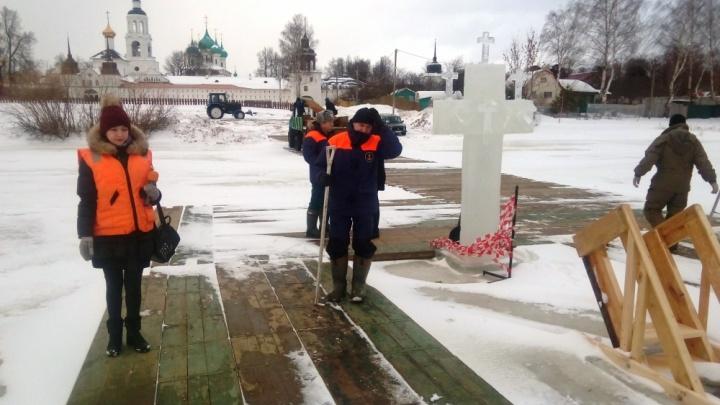 «Крещенских купаний не будет»: в Ярославской области МЧС запретило открывать иордань
