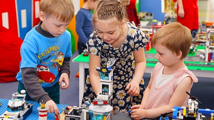 Тюменским детям готовят праздник Lego: пособирать целые города изLego можно будет на Дне города
