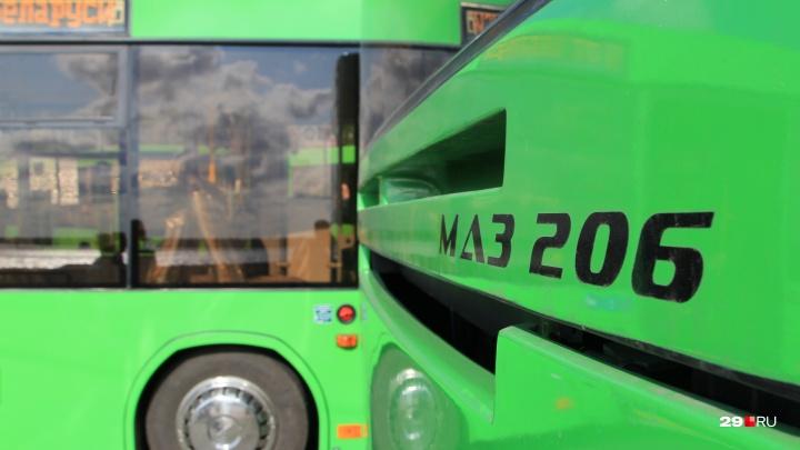 «Выявлены проблемы»: горадмин проверил работу автобусов на двух архангельских маршрутах в час пик