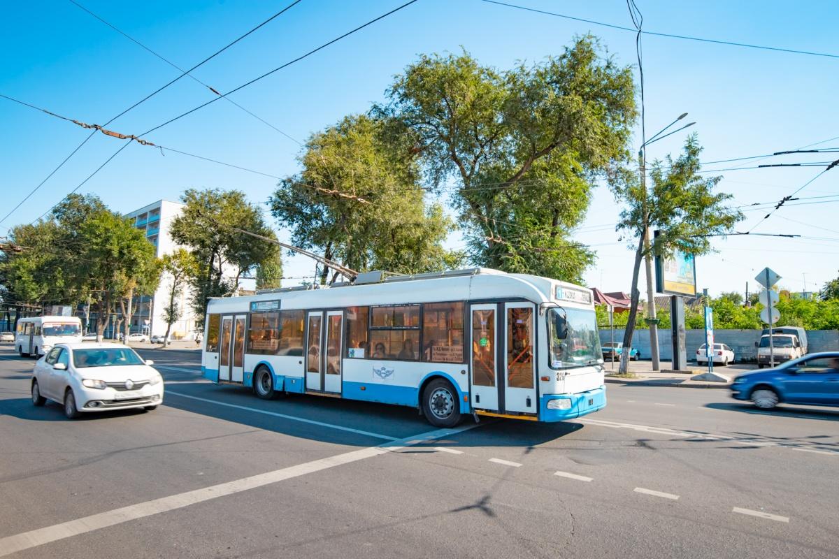 Сейчас ростовские троллейбусы ходят по пяти маршрутам