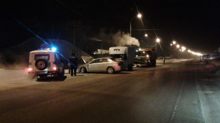 «Опыта не хватило»: водитель «Мицубиси» погиб в аварии под Новосибирском