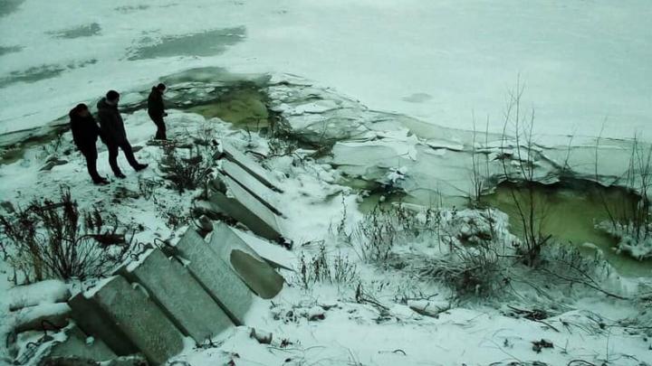 Разыскивали с декабря: в Самарской области нашли тело утонувшего мужчины