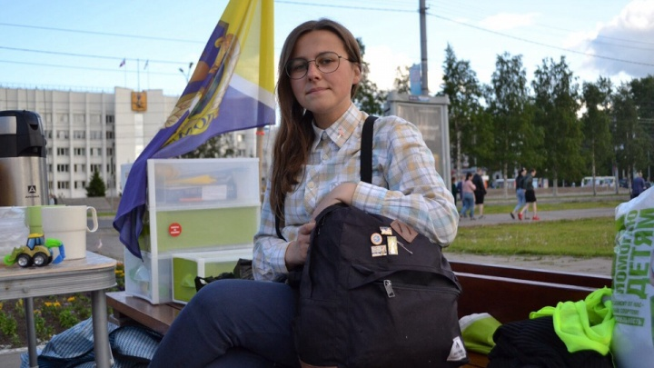 Архангелогородку оштрафовали за гимн России на антимусорном митинге в Соломбале