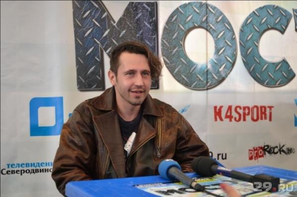 Игорь Растеряев приезжал в Архангельск с концертами и ранее, а в 2015 году был участником рок-фестиваля «Мост»