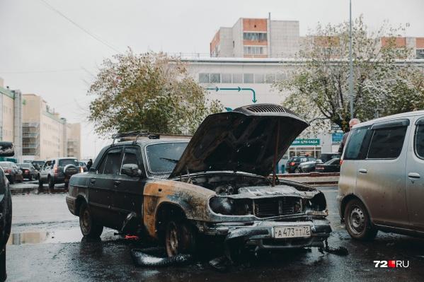Это произошло на парковке сегодня под утро