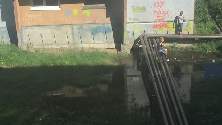«Приехали, посмотрели и уехали»: жители Маймаксы из-за аварии останутся без воды