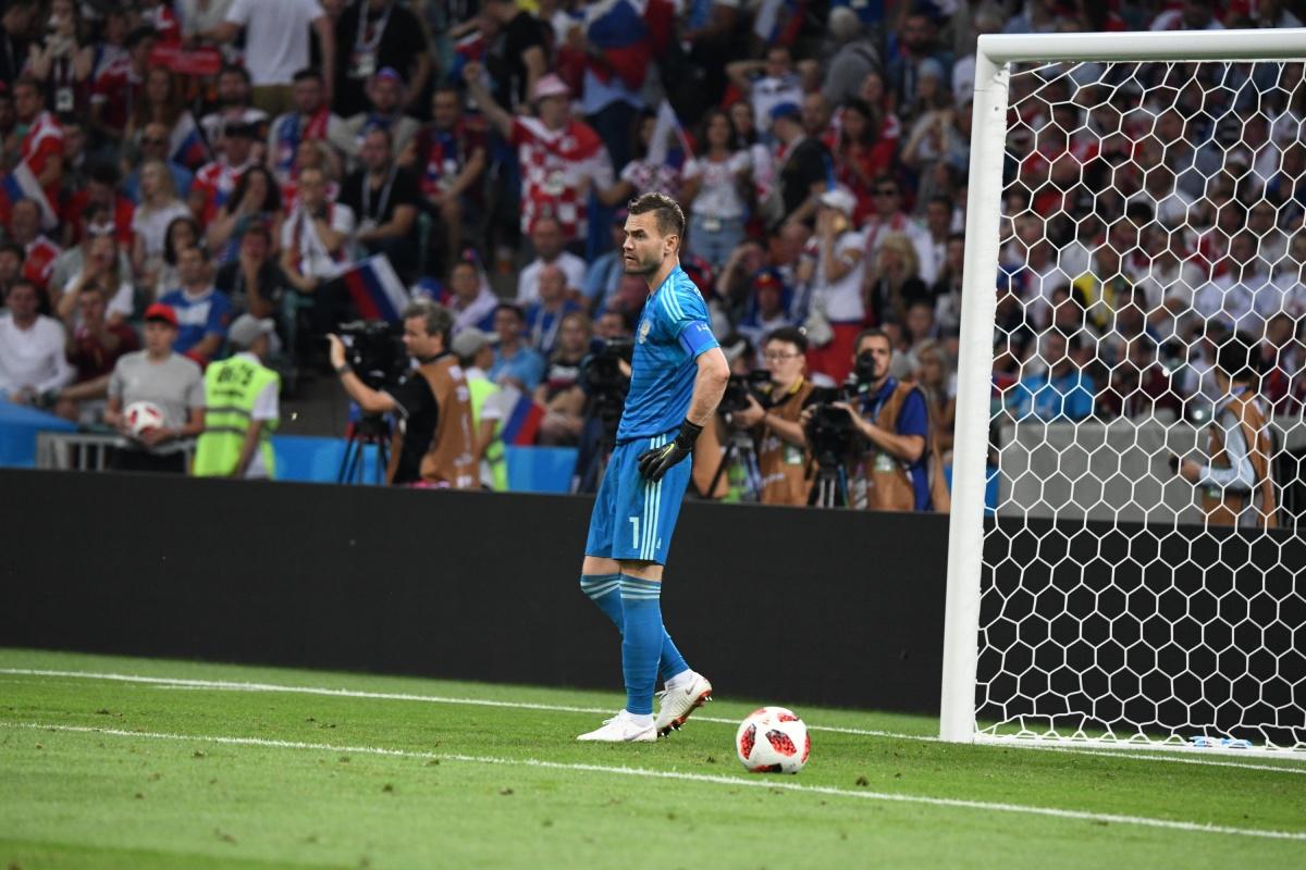 Игорь Акинфеев неожиданно для многих решил завершить карьеру в сборной