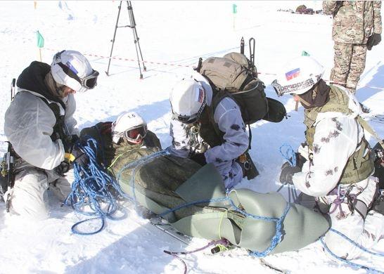 Новосибирский спецназ занял первое место взимнем конкурсе Армейских международных игр
