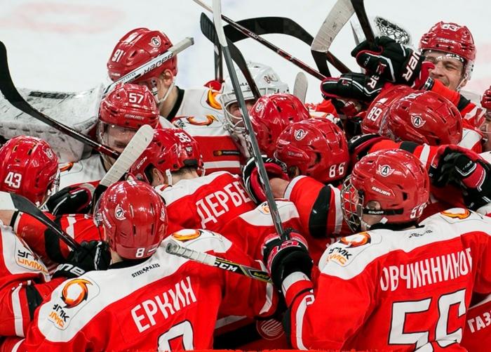 Команда «Авто»впервые вышла в финал Кубка Харламова