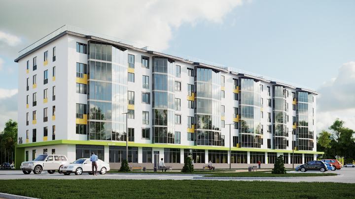 Стильная новостройка с квартирами от 7 591 рубля в месяц изменила облик жилого района