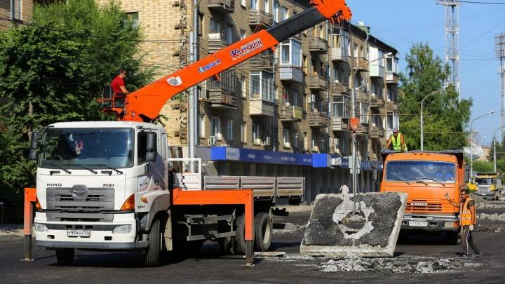 Названа дата окончания ремонта дорог в центре