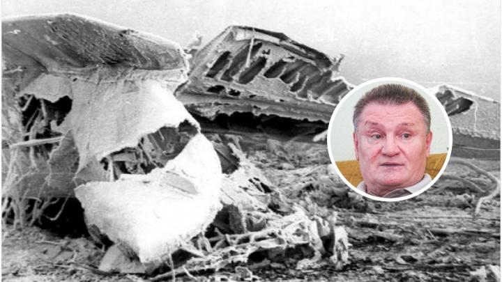 «Самолёт зацепился за деревья крылом». История выжившего в авиакатастрофе в Тюменской области