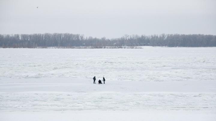 Реки стали: самарские синоптики рассказали о толщине льда
