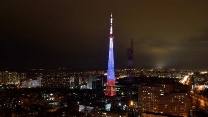 Чиновники объяснили отключение подсветки самарской телебашни