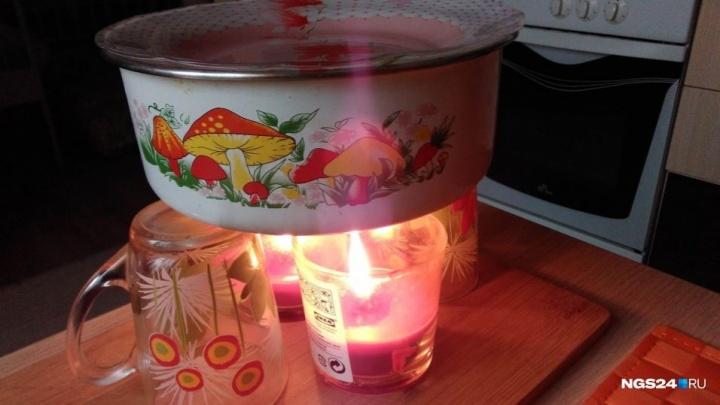 16 домов в Октябрьском районе остались без электричества из-за аварии