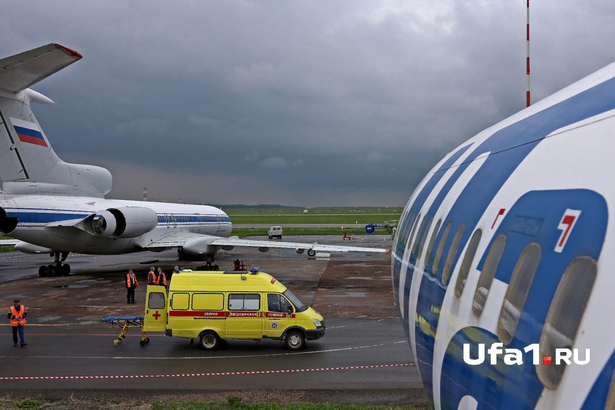 ВКазани экстренно сел самолет изУфы