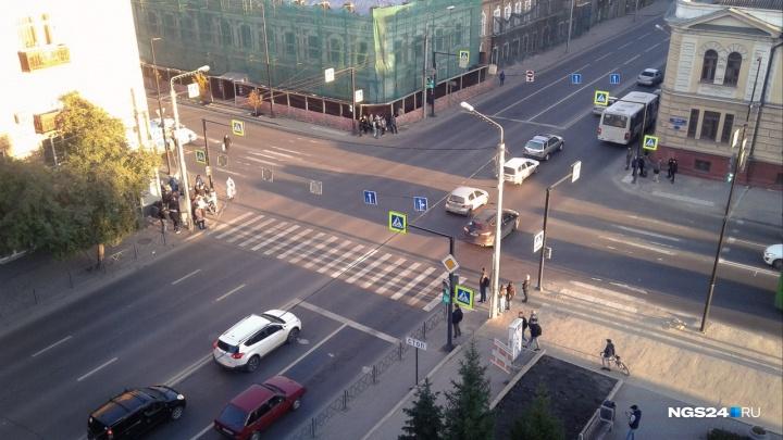 Главный дорожник назвал самые аварийно-опасные места в Красноярске за этот год