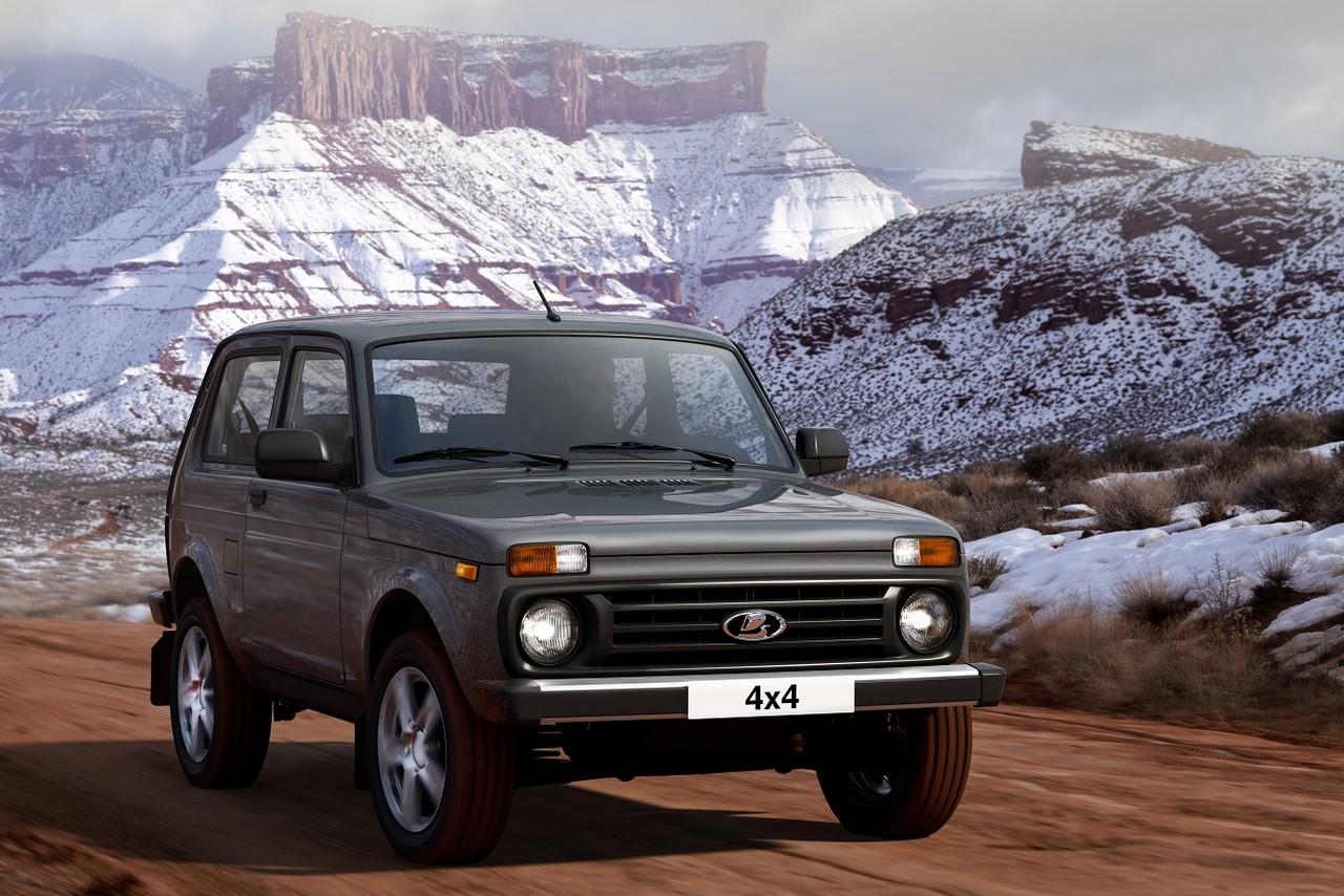Lada 4x4 пережила рестайлинг, но на самом деле почти не изменилась