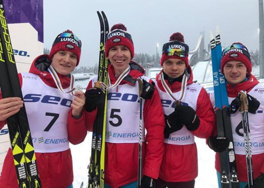В январе новосибирский спортсмен занял первое место на чемпионате мира по лыжным гонкам среди юниоров