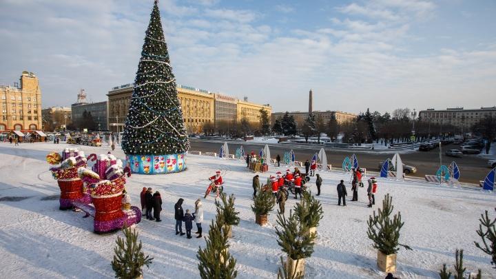 Фестиваль снеговиков и караоке-конкурс: Волгоград продолжает отмечать Новый год