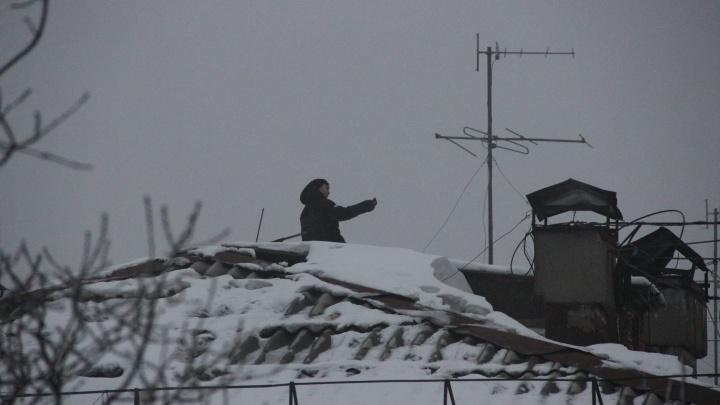 Опасное селфи: в Самаре подросток залез на крышу, чтобы сфотографироваться