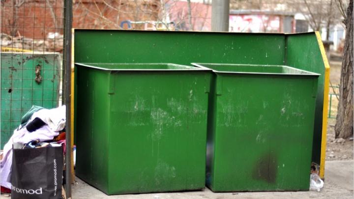 Четыре УК правобережья оштрафованы за переполненные мусорные баки