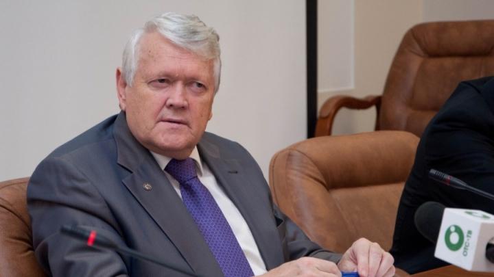 Бывший глава СО РАН Асеев стал почётным жителем Новосибирска