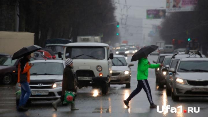 На Башкирию надвигается циклон с сильными ливнями и грозой