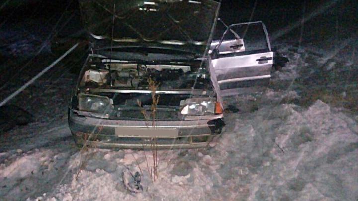 На трассе в Башкирии перевернулась легковушка: погиб мужчина