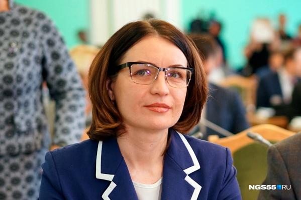 Сейчас мэр Омска Оксана Фадина официально находится в отпуске