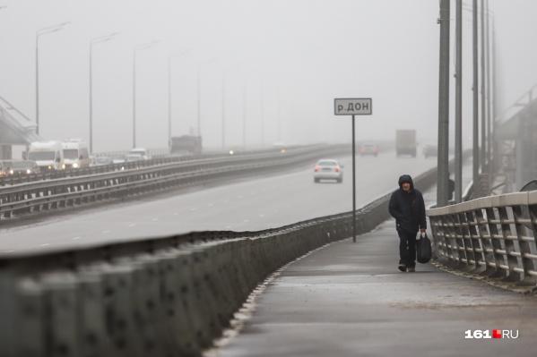 В тумане расстояние между автомобилями может быть обманчивым