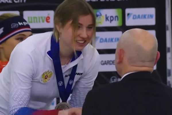 Ольга Фаткулина завоевала третью медаль на чемпионате мира в США